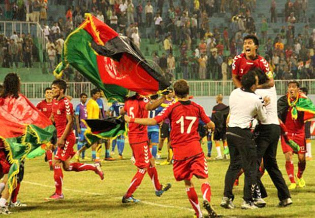উপমহাদেশের ফুটবলে বিপ্লব ঘটিয়ে আফগানদের উল্লাস......